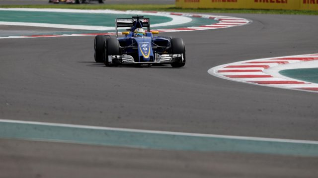 Marcus Ericsson (SWE) Sauber C35 at Formula One World Championship, Rd19, Mexican Grand Prix, Race, Circuit Hermanos Rodriguez, Mexico City, Mexico, Sunday 30 October 2016. &copy&#x3b; Sutton Images