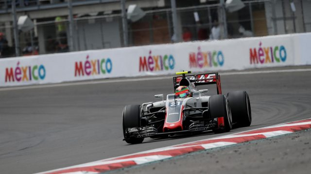 Esteban Gutierrez (MEX) Haas VF-16 at Formula One World Championship, Rd19, Mexican Grand Prix, Race, Circuit Hermanos Rodriguez, Mexico City, Mexico, Sunday 30 October 2016. &copy&#x3b; Sutton Images