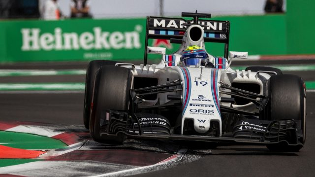 Felipe Massa (BRA) Williams FW38 at Formula One World Championship, Rd19, Mexican Grand Prix, Race, Circuit Hermanos Rodriguez, Mexico City, Mexico, Sunday 30 October 2016. &copy&#x3b; Sutton Images
