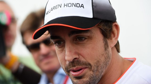 Fernando Alonso (ESP) McLaren at Formula One World Championship, Rd18, United States Grand Prix, Preparations, Circuit of the Americas, Austin, Texas, USA, Thursday 20 October 2016. &copy&#x3b; Sutton Images