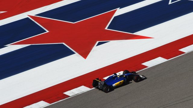 Marcus Ericsson (SWE) Sauber C35 at Formula One World Championship, Rd18, United States Grand Prix, Practice, Circuit of the Americas, Austin, Texas, USA, Friday 21 October 2016. &copy&#x3b; Sutton Images