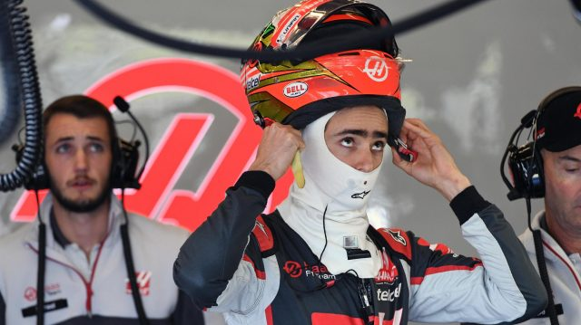 Esteban Gutierrez (MEX) Haas F1 at Formula One World Championship, Rd18, United States Grand Prix, Practice, Circuit of the Americas, Austin, Texas, USA, Friday 21 October 2016. &copy&#x3b; Sutton Images