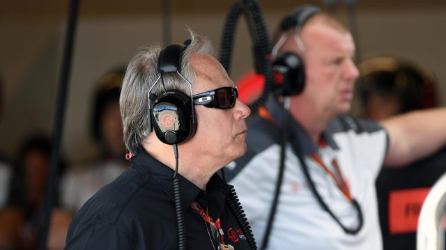 Gene Haas (USA) Founder and Chairman, Haas F1 Team at Formula One World Championship, Rd18, United States Grand Prix, Practice, Circuit of the Americas, Austin, Texas, USA, Friday 21 October 2016. &copy&#x3b; Sutton Images