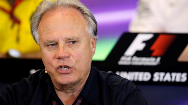 Gene Haas (USA) Founder and Chairman, Haas F1 Team in the Press Conference at Formula One World Championship, Rd18, United States Grand Prix, Practice, Circuit of the Americas, Austin, Texas, USA, Friday 21 October 2016. &copy&#x3b; Sutton Images