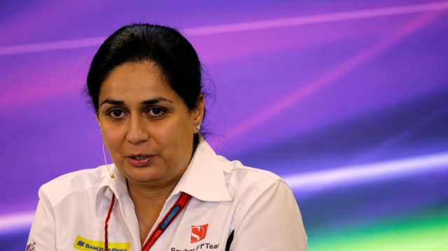 Monisha Kaltenborn (AUT) Sauber Team Prinicpal in the Press Conference at Formula One World Championship, Rd18, United States Grand Prix, Practice, Circuit of the Americas, Austin, Texas, USA, Friday 21 October 2016. &copy&#x3b; Sutton Images