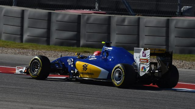 Felipe Nasr (BRA) Sauber C35 at Formula One World Championship, Rd18, United States Grand Prix, Practice, Circuit of the Americas, Austin, Texas, USA, Friday 21 October 2016. &copy&#x3b; Sutton Images