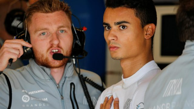 Pascal Wehrlein (GER) Manor Racing at Formula One World Championship, Rd18, United States Grand Prix, Qualifying, Circuit of the Americas, Austin, Texas, USA, Saturday 22 October 2016. &copy&#x3b; Sutton Images