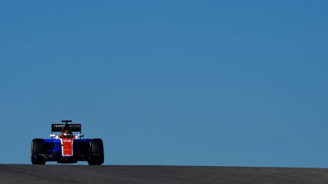 Pascal Wehrlein (GER) Manor Racing MRT05 at Formula One World Championship, Rd18, United States Grand Prix, Qualifying, Circuit of the Americas, Austin, Texas, USA, Saturday 22 October 2016. &copy&#x3b; Sutton Images