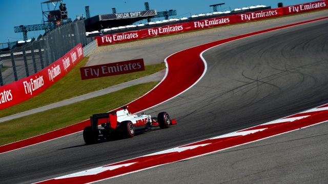 Esteban Gutierrez (MEX) Haas VF-16 at Formula One World Championship, Rd18, United States Grand Prix, Qualifying, Circuit of the Americas, Austin, Texas, USA, Saturday 22 October 2016. &copy&#x3b; Sutton Images