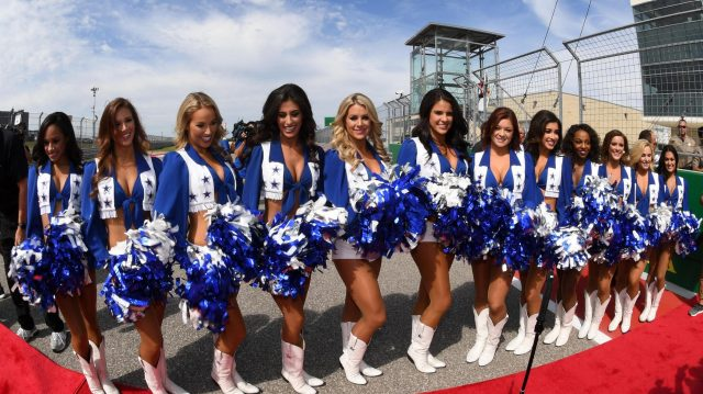 Grid girls at Formula One World Championship, Rd18, United States Grand Prix, Race, Circuit of the Americas, Austin, Texas, USA, Sunday 23 October 2016. &copy&#x3b; Sutton Images