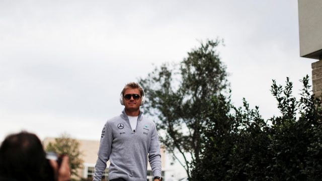 Nico Rosberg (GER) Mercedes AMG F1 at Formula One World Championship, Rd18, United States Grand Prix, Race, Circuit of the Americas, Austin, Texas, USA, Sunday 23 October 2016. &copy&#x3b; Sutton Images