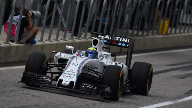 Felipe Massa (BRA) Williams FW38 at Formula One World Championship, Rd18, United States Grand Prix, Race, Circuit of the Americas, Austin, Texas, USA, Sunday 23 October 2016. &copy&#x3b; Sutton Images