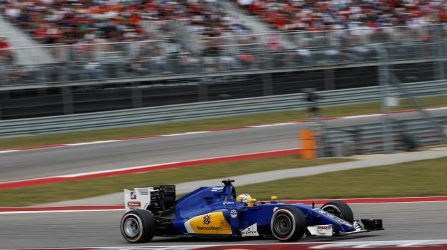 Marcus Ericsson (SWE) Sauber C35 at Formula One World Championship, Rd18, United States Grand Prix, Race, Circuit of the Americas, Austin, Texas, USA, Sunday 23 October 2016. &copy&#x3b; Sutton Images