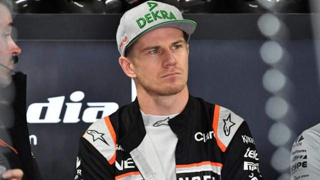 Nico Hulkenberg (GER) Force India F1 at Formula One World Championship, Rd20, Brazilian Grand Prix, Qualifying, Interlagos, Sao Paulo, Brazil, Saturday 12 November 2016. &copy&#x3b; Sutton Images