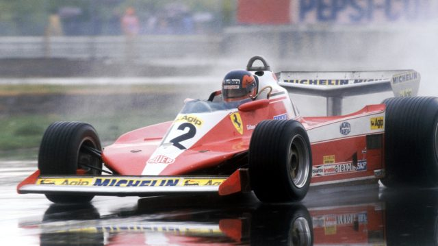 Perhaps buoyed by their success, Ferrari added even more white into the mix in 1978, adding the colour to the nose and sidepods of the 312T3 - the car with which the great Gilles Villeneuve scored his maiden victory in Canada at the end of the season. &copy&#x3b; Sutton Motorsport Images