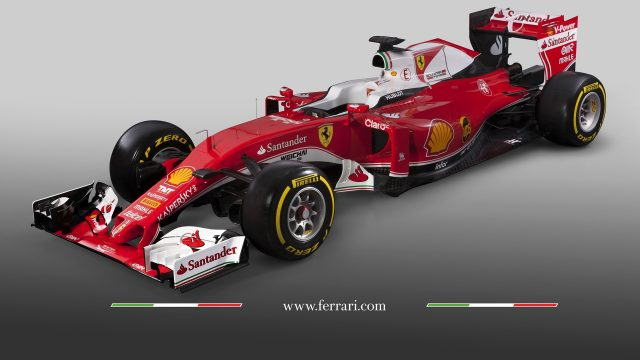 Featuring large helpings of white across the engine cover and underside of the chassis, the livery Ferrari have chosen for the SF16-H is very reminiscent of that used in the Seventies. Will it too go on to become a championship winner? &copy&#x3b; Ferrari