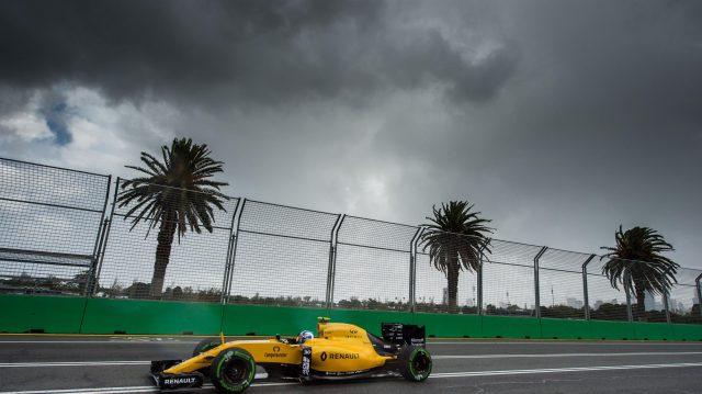 Jolyon Palmer (GBR) Renault Sport F1 Team RS16 at Formula One World Championship, Rd1, Australian Grand Prix, Practice, Albert Park, Melbourne, Australia, Friday 18 March 2016. &copy&#x3b; Sutton Motorsport Images