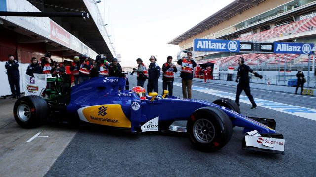 Felipe Nasr (BRA) Sauber C35 at Formula One Testing, Day One, Barcelona, Spain, Tuesday 1 March 2016. &copy&#x3b; Sutton Motorsport Images