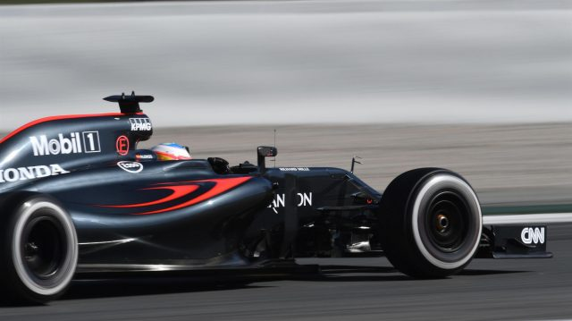 Fernando Alonso (ESP) McLaren MP4-31 at Formula One Testing, Day One, Barcelona, Spain, Tuesday 1 March 2016. &copy&#x3b; Sutton Motorsport Images