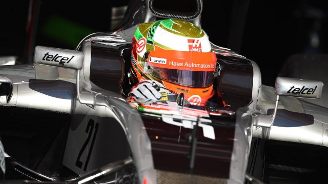 Esteban Gutierrez (MEX) Haas VF-16 at Formula One Testing, Day One, Barcelona, Spain, Tuesday 1 March 2016. &copy&#x3b; Sutton Motorsport Images