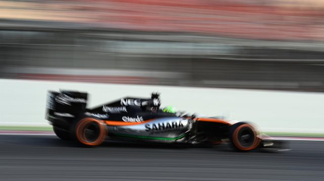 Nico Hulkenberg (GER) Force India VJM09 at Formula One Testing, Day One, Barcelona, Spain, Tuesday 1 March 2016. &copy&#x3b; Sutton Motorsport Images