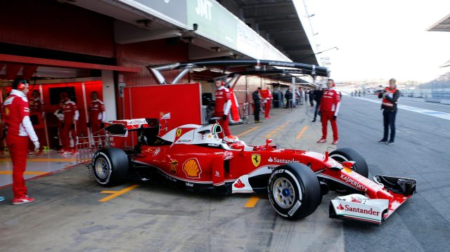 Kimi Raikkonen (FIN) Ferrari SF16-H at Formula One Testing, Day One, Barcelona, Spain, Tuesday 1 March 2016. &copy&#x3b; Sutton Motorsport Images