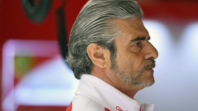 Maurizio Arrivabene (ITA) Ferrari Team Principal at Formula One Testing, Day Two, Barcelona, Spain, Wednesday 2 March 2016. &copy&#x3b; Sutton Motorsport Images Sutton Motorsport Images