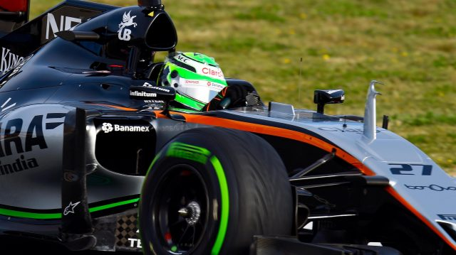Nico Hulkenberg (GER) Force India VJM09 at Formula One Testing, Day Three, Barcelona, Spain, Thursday 3 March 2016. &copy&#x3b; Sutton Motorsport Images