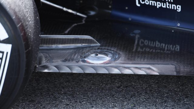 Red Bull Racing RB12 rear floor detail at Formula One Testing, Day Three, Barcelona, Spain, Thursday 3 March 2016. &copy&#x3b; Sutton Motorsport Images
