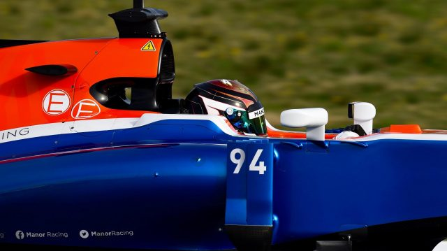 Pascal Wehrlein (GER) Manor Racing MRT05 at Formula One Testing, Day Three, Barcelona, Spain, Thursday 3 March 2016. &copy&#x3b; Sutton Motorsport Images