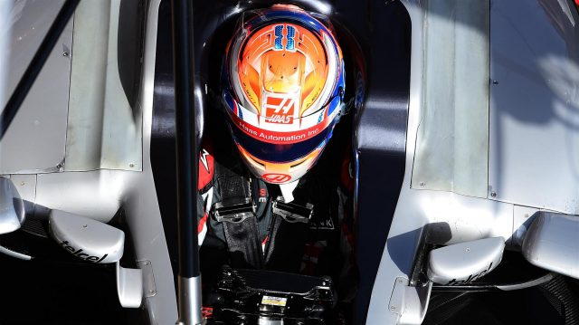 Romain Grosjean (FRA) Haas VF-16 at Formula One Testing, Day Three, Barcelona, Spain, Thursday 3 March 2016. &copy&#x3b; Sutton Motorsport Images