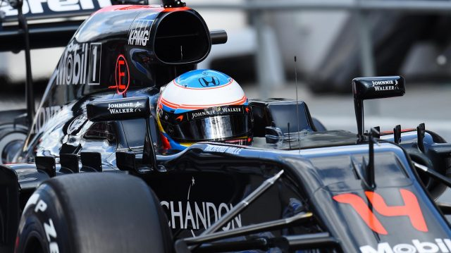 Fernando Alonso (ESP) McLaren MP4-31 at Formula One Testing, Day Three, Barcelona, Spain, Thursday 3 March 2016. &copy&#x3b; Sutton Motorsport Images