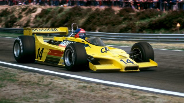 Emerson Fittipaldi (BRA) Copersucar Fittipaldi F5A finished the race in ninth position. Belgian Grand Prix, Rd 6, Zolder, Belgium, 13 May 1979. ©Sutton Motorsport Images