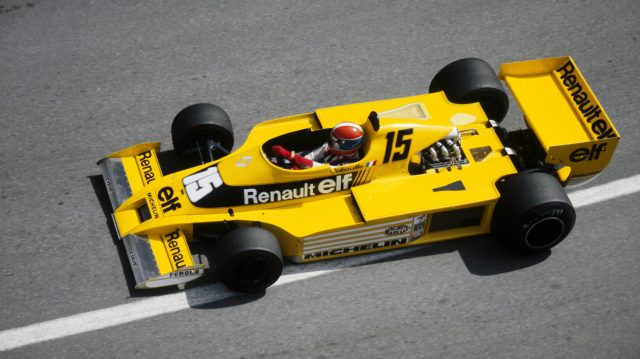 Jean-Pierre Jabouille (FRA) Renault RS01 finished the race in tenth position.