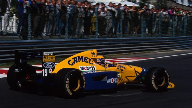 Roberto Moreno (BRA) Benetton B191, 4th Place.