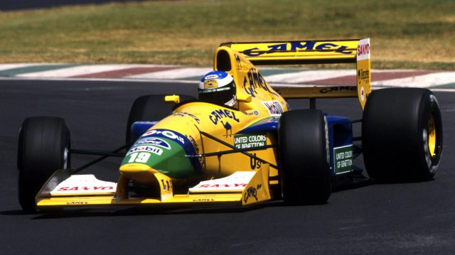 Michael Schumacher (GER) Benetton B191B, 3rd place.