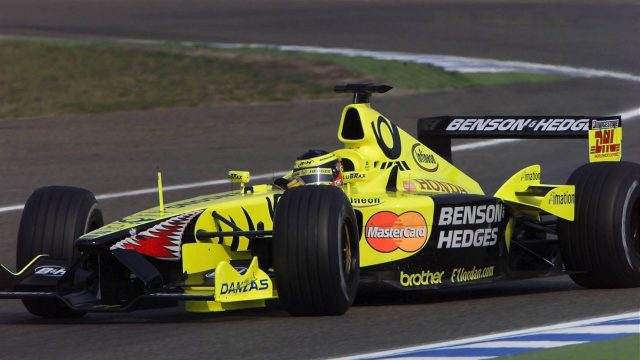 Ricardo Zonta (BRA) Jordan Honda EJ11. German Grand Prix, Hockenheim 29 July 2001. &copy&#x3b; SUTTON MOTORSPORT IMAGES
