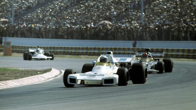 Making your Grand Prix debut on home soil can be a blessing or a curse, but for <b>Carlos Reutemann</b> it was most definitely the former. In front of a packed house in Buenos Aires in 1972, the young Argentinian shocked the paddock by beating world champion Jackie Stewart to pole position, qualifying 15 places ahead of Brabham team mate Graham Hill and becoming just the second driver in history (after Mario Andretti) to start his first race from P1. He might have finished on the podium in the race too, but eventually faded to seventh after having to pit for fresh rubber. ©Sutton Motorsport Images