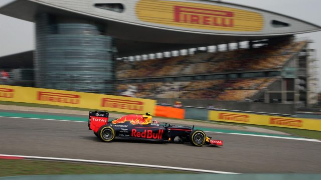 Daniil Kvyat (RUS) Red Bull Racing RB12 at Formula One World Championship, Rd3, Chinese Grand Prix, Practice, Shanghai, China, Friday 15 April 2016. &copy&#x3b; Sutton Motorsport Images