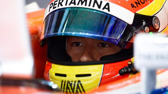 Rio Haryanto (IDN) Manor Racing at Formula One World Championship, Rd3, Chinese Grand Prix, Practice, Shanghai, China, Friday 15 April 2016. &copy&#x3b; Sutton Motorsport Images