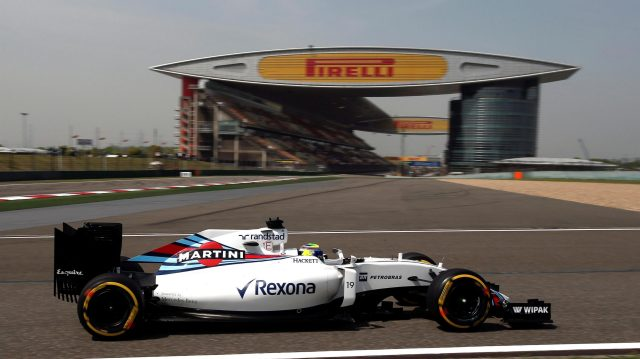 Felipe Massa (BRA) Williams FW38 at Formula One World Championship, Rd3, Chinese Grand Prix, Practice, Shanghai, China, Friday 15 April 2016. &copy&#x3b; Sutton Motorsport Images