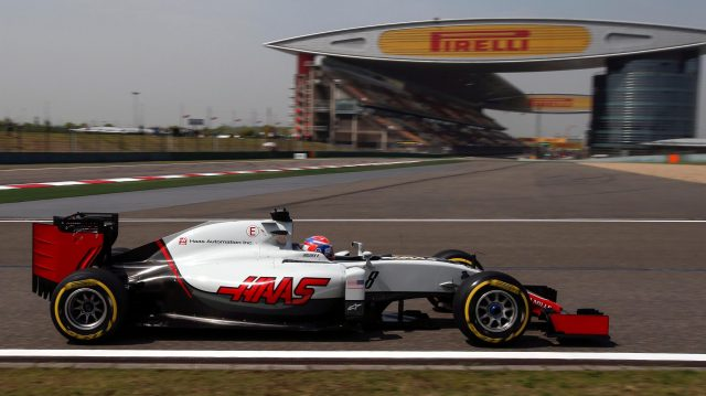 Romain Grosjean (FRA) Haas VF-16 at Formula One World Championship, Rd3, Chinese Grand Prix, Practice, Shanghai, China, Friday 15 April 2016. &copy&#x3b; Sutton Motorsport Images