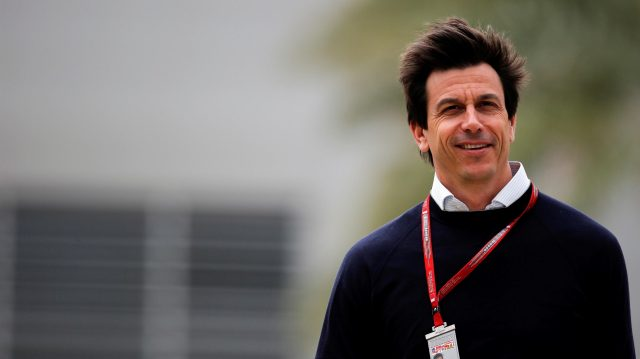 Toto Wolff (AUT) Mercedes AMG F1 Director of Motorsport at Formula One World Championship, Rd2, Bahrain Grand Prix Preparations, Bahrain International Circuit, Sakhir, Bahrain, Thursday 31 March 2016. &copy&#x3b; Sutton Motorsport Images