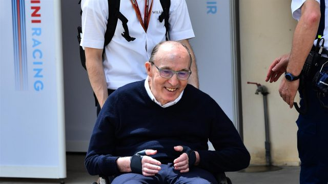 Frank Williams (GBR) Williams Team Owner at Formula One World Championship, Rd2, Bahrain Grand Prix Practice, Bahrain International Circuit, Sakhir, Bahrain, Friday 1 April 2016. &copy&#x3b; Sutton Motorsport Images