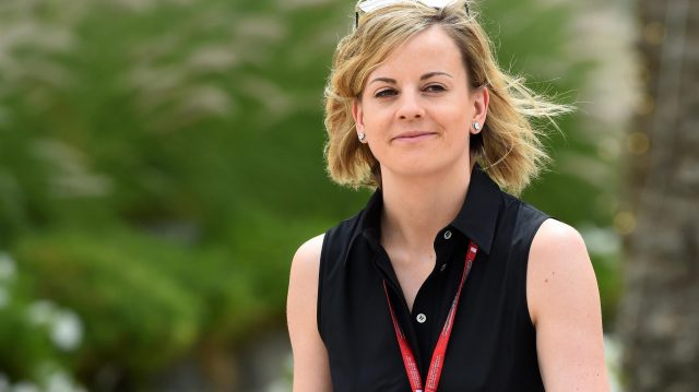 Susie Wolff (GBR) at Formula One World Championship, Rd2, Bahrain Grand Prix Practice, Bahrain International Circuit, Sakhir, Bahrain, Friday 1 April 2016. &copy&#x3b; Sutton Motorsport Images