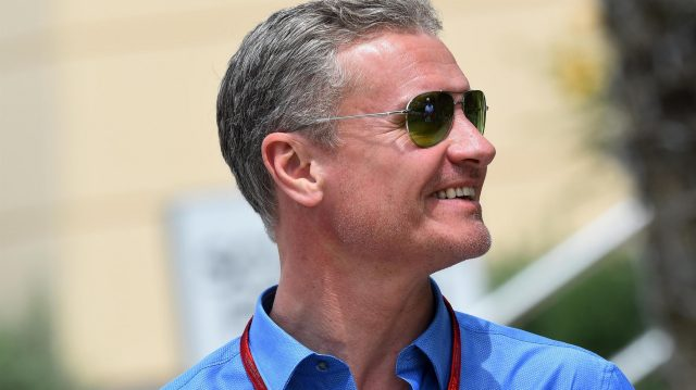 David Coulthard (GBR) Channel Four TV Commentator at Formula One World Championship, Rd2, Bahrain Grand Prix Practice, Bahrain International Circuit, Sakhir, Bahrain, Friday 1 April 2016. &copy&#x3b; Sutton Motorsport Images