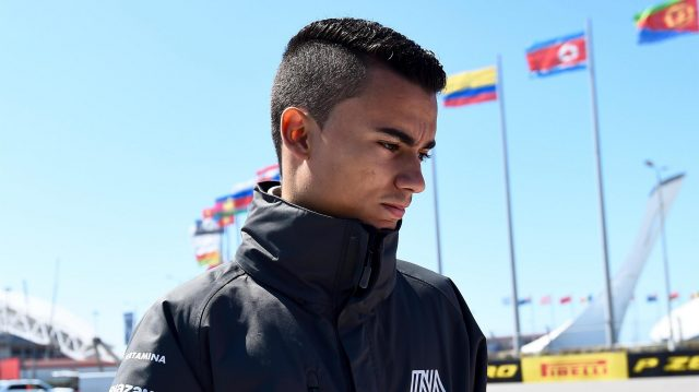 Pascal Wehrlein (GER) Manor Racing walks the track at Formula One World Championship, Rd4, Russian Grand Prix, Preparations, Sochi Autodrom, Sochi, Krasnodar Krai, Russia, Thursday 28 April 2016. &copy&#x3b; Sutton Motorsport Images