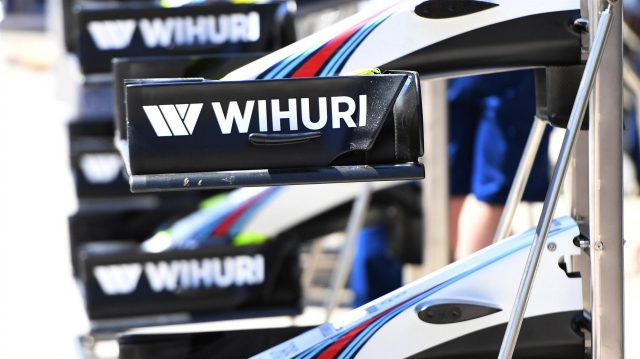 Williams FW38 nose and front wings at Formula One World Championship, Rd4, Russian Grand Prix, Preparations, Sochi Autodrom, Sochi, Krasnodar Krai, Russia, Thursday 28 April 2016. &copy&#x3b; Sutton Motorsport Images