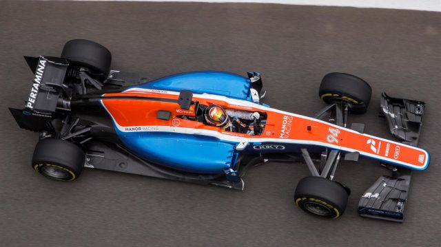 Pascal Wehrlein (GER) Manor Racing MRT05 at Formula One World Championship, Rd4, Russian Grand Prix, Practice, Sochi Autodrom, Sochi, Krasnodar Krai, Russia, Friday 29 April 2016. &copy&#x3b; Sutton Motorsport Images