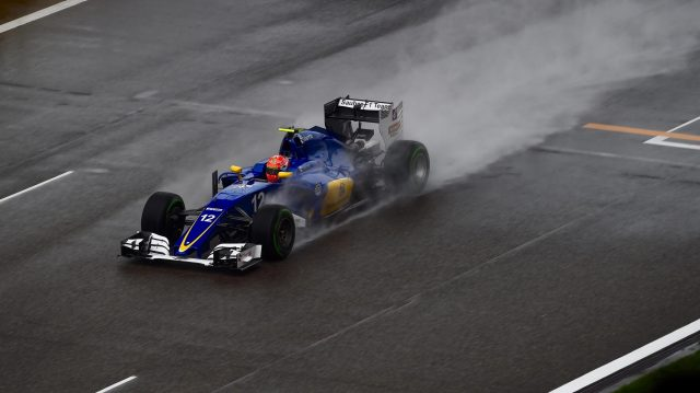 Felipe Nasr (BRA) Sauber C35 at Formula One World Championship, Rd3, Chinese Grand Prix, Qualifying, Shanghai, China, Saturday 16 April 2016. &copy&#x3b; Sutton Motorsport Images